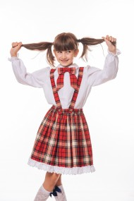 Fusta School dress by Rebeca in carouri Rosie