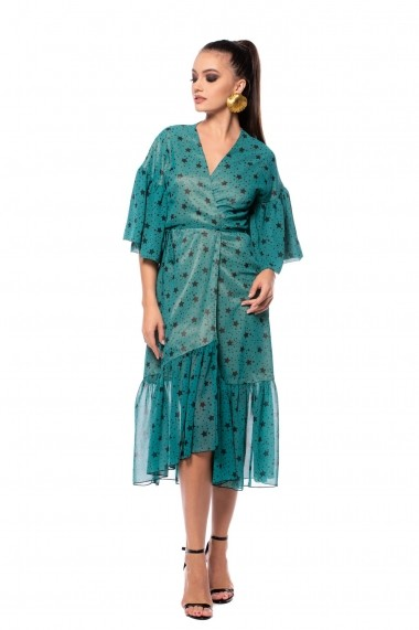 Rochie de zi Carolina D LikeAStar Verde