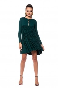 Rochie din jersey Carolina D Make A Wish Verde