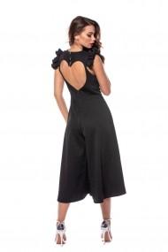 Salopeta cu fusta pantalon Carolina D New Romance Neagra