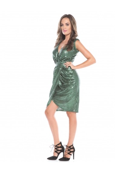 Rochie Roserry CRM 1RSY389 verde