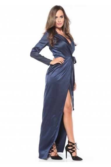 Rochie Roserry CRM 1RSY401 bleumarin