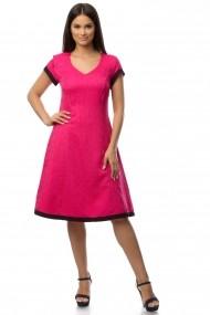 Rochie Cesy Fashion CSF 066 fuchsia