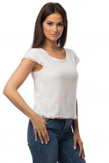 Bluza Cesy Fashion CSF 109 alb