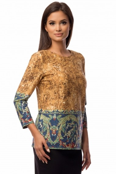 Bluza Cesy Fashion CSF 171 maro