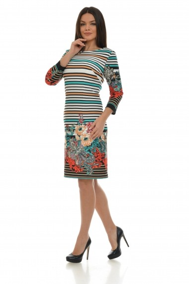 Rochie Cesy Fashion CSF 200 multicolor