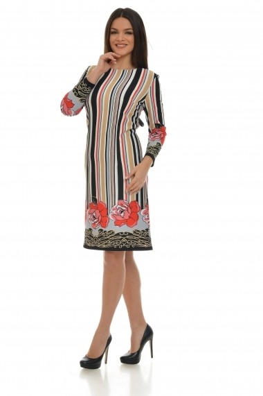 Rochie Cesy Fashion CSF 203 multicolor