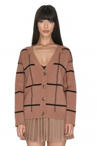 Cardigan Cuanna Miri Brown