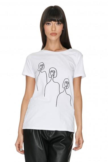Tricou Bumbac Femme T-shirt