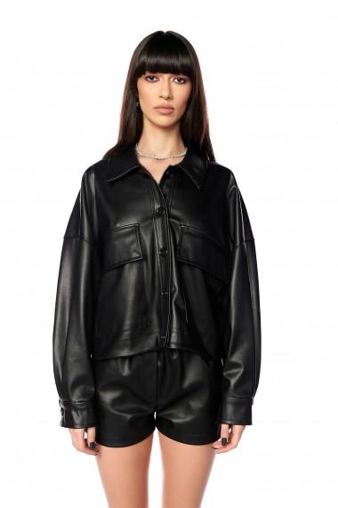 Jacheta din piele ecologica