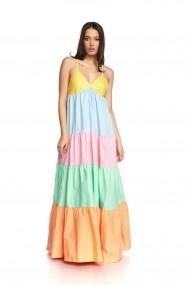 Rochie Lunga multicolora