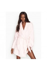 Halat Victoria`s Secret Logo Short Cozy Mauve Chalk Roz