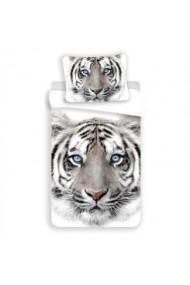 Lenjerie pat White tiger
