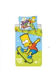 Lenjerie pat Bart Skate