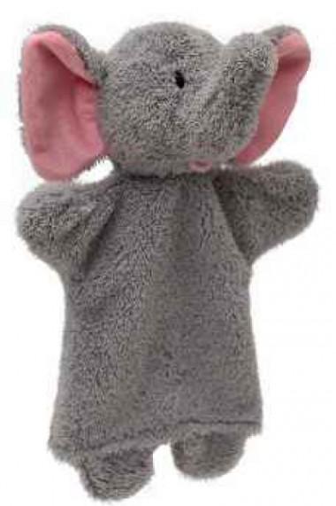 Papusa de mana elefant 27 cm