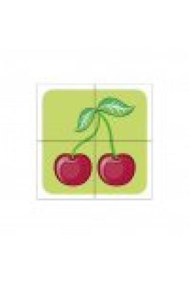 """Cuburi din lemn """"Fructe"""""""