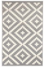 Covor Decorino Modern & Geometric Sova, Alb/Gri, 120x170 cm