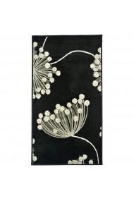 Covor Decorino Floral Electra, Negru, 120x170