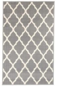 Covor Decorino Modern & Geometric Halanji, Gri/Alb, 60x110 cm