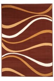 Covor Decorino Modern & Geometric Elzaric, Maro/Bej/Alb, 60x110 cm