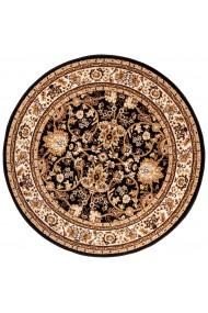 Covor Decorino Oriental & Clasic Sufai, Maro/Bej/Negru, 80x80 cm