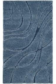 Covor Safavieh Pufos Naples Albastru 120x180 cm