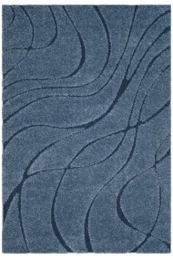 Covor Safavieh Pufos Naples Albastru 200x300 cm