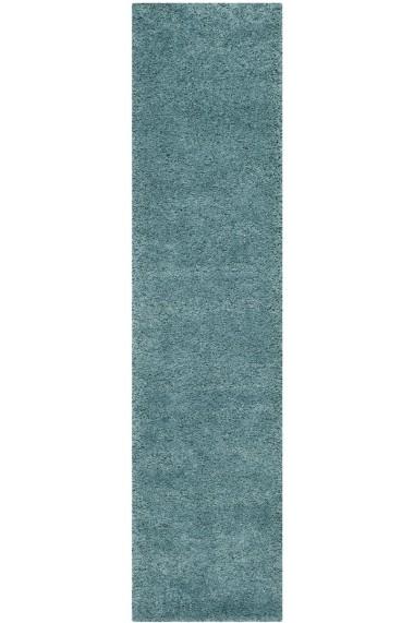 Covor Safavieh Pufos Bowery Albastru 62x240 cm