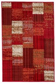 Covor Decorino Patchwork Sagan, Rosu/Bej, 133x190 cm