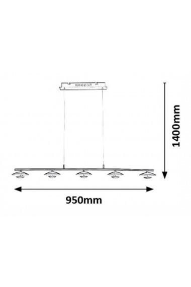 Pendul Brigitte 5 x LED max 5W