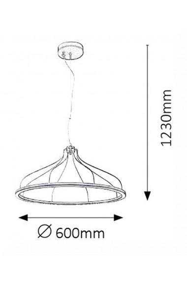 Pendul Eaden 1 x LED max 35W