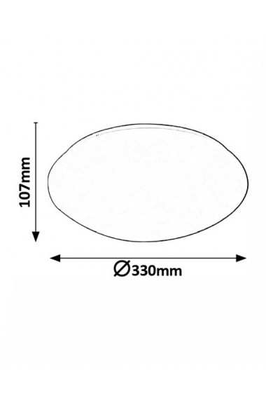 Plafoniera Lucas 1 x LED max 18W