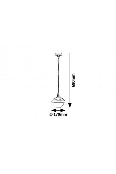 Pendul Exterior Modesto 1 x E27 40W