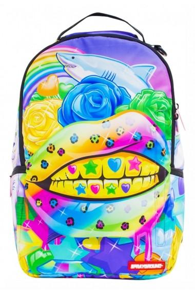 Rucsac Sprayground Rainbow Life Multicolor - Sticker Cadou