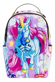 Rucsac Sprayground Unicorn On The Run Multicolor - Sticker Cadou