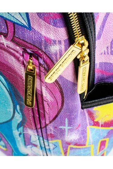Rucsac Sprayground Unicorn On The Run Multicolor - Sticker Cadou