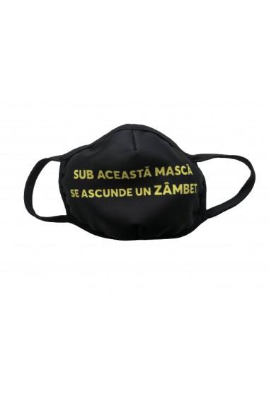 MEN Smile - Masca de protectie din material textil