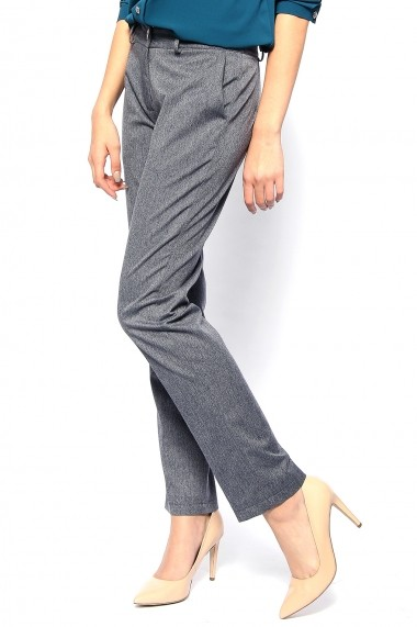 OFFICIAL - Pantaloni drepti din stofa - Trop Gris - Official gri-denim