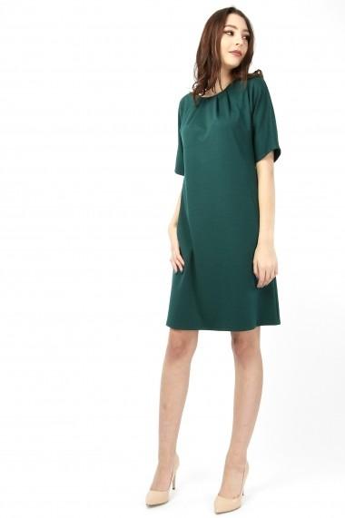 Rochie lejera cu buzunare - Dark Emerald - Sweet Rose of Mine verde inchis