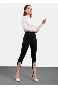 Pantaloni Divalo leggings cu banda elastica