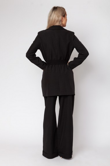 Costum dama ClothEGO doua piese, Negru