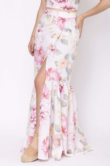 Set top+fusta lunga ClothEGO, Print floral