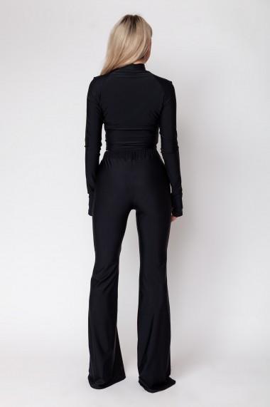 Set maleta+pantalon evazat, ClothEGO, Negru