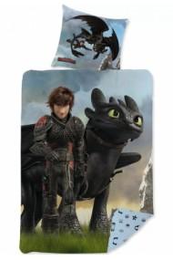 Lenjerie de pat Dragons 140×200 cm, 70×90 cm - Dragoni