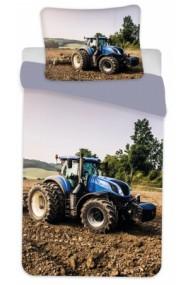 Lenjerie de pat Tractor 135×200cm, 80×80 cm -