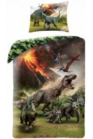 Lenjerie de pat pentru copii Jurassic Parc 140×200cm, 70×90 cm - Jurassic