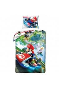 Lenjerie de pat pentru copii Super Mario