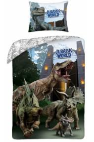 Lenjerie de pat pentru copii Jurassic 140×200cm, 70×90 cm - Jurassic