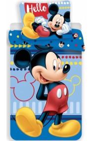 Lenjerie de pat pentru copii Mickey Mouse 140×200cm, 70×90 cm - Mickey Mouse