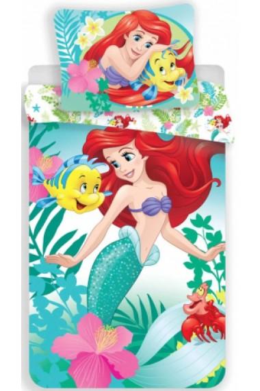Lenjerie de pat pentru copii Disney Princess Sirena 140×200cm, 70×90 cm - Princess